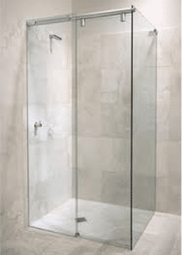 stegbar softline semi-framless shower screen